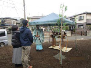 横浜市泉区M様邸 地鎮祭
