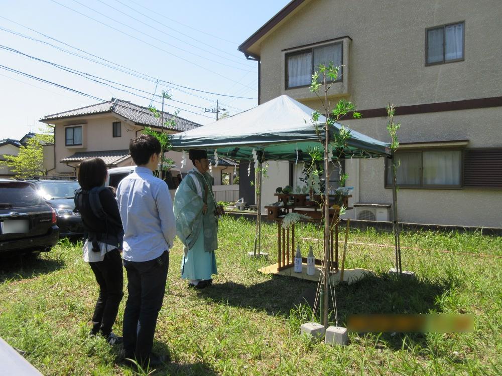 横須賀市K様邸 地鎮祭