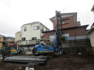 横浜市泉区M様邸 工事着手