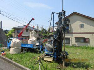 横須賀市K様邸 地盤改良