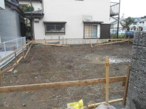 横浜市金沢区O様邸 基礎着工