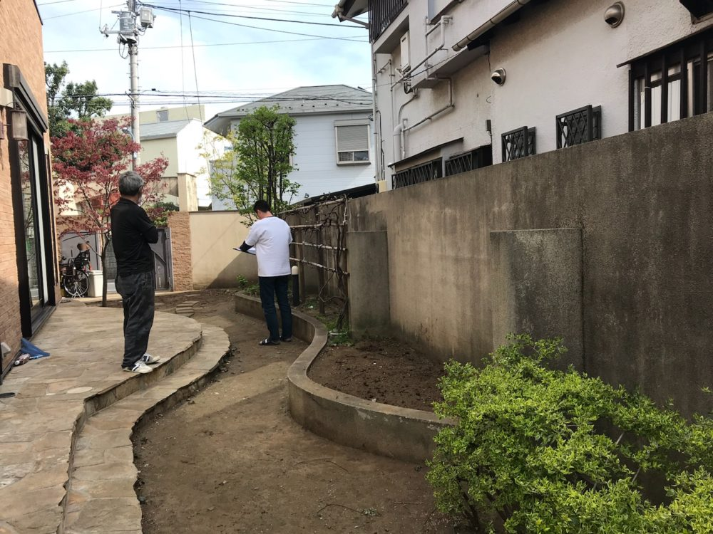 杉並区W様邸 外構改修工事②