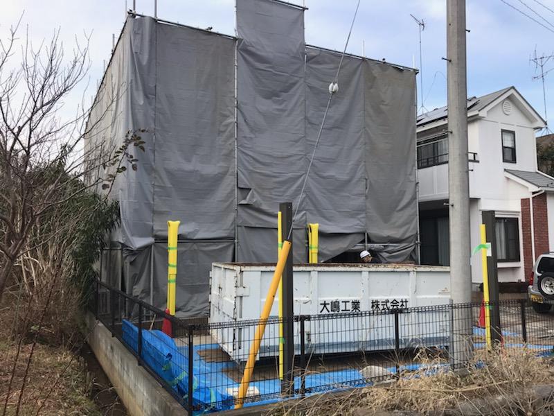 町田市A様邸 解体工事