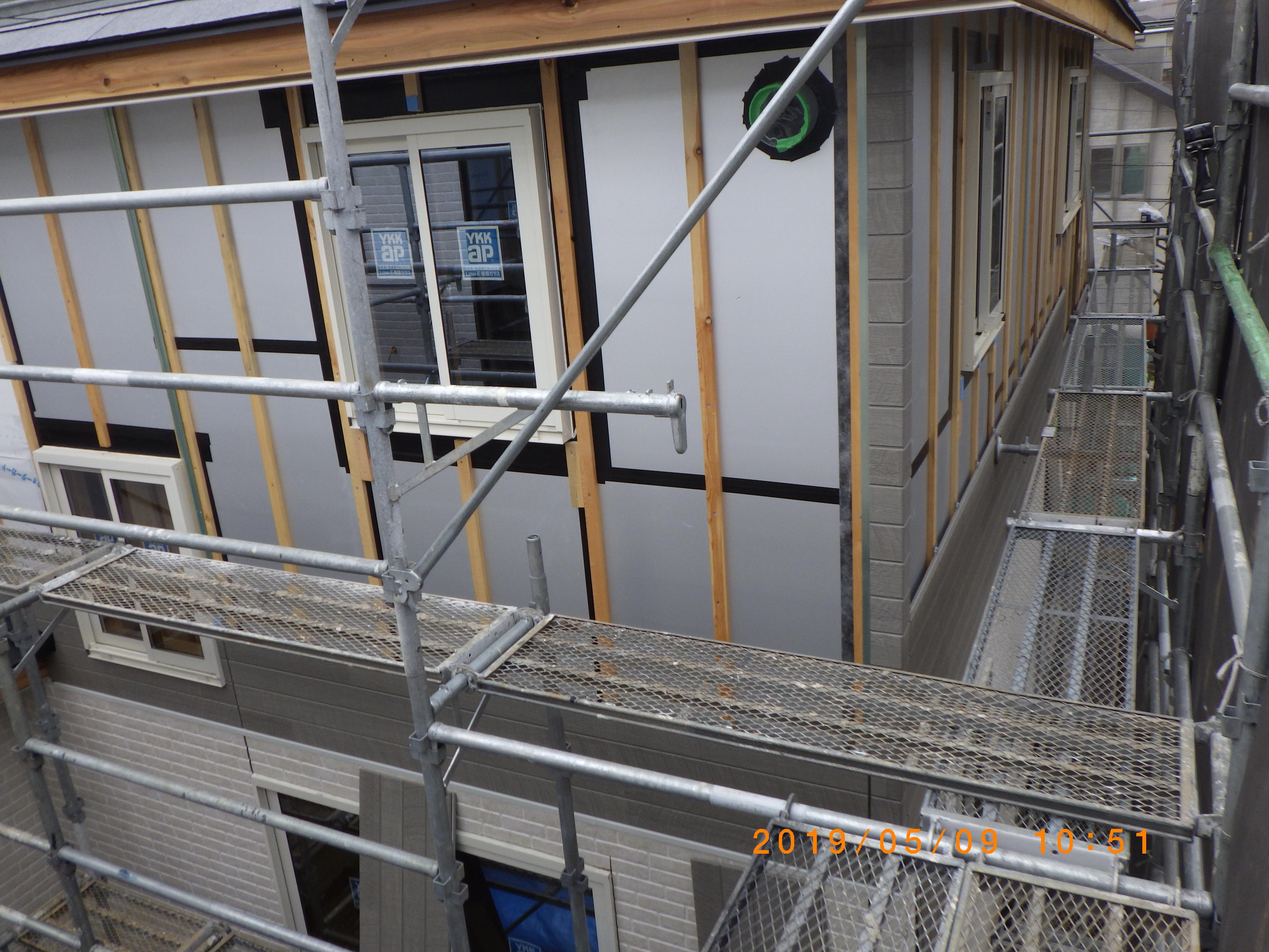横浜市青葉区S様邸外壁工事完了