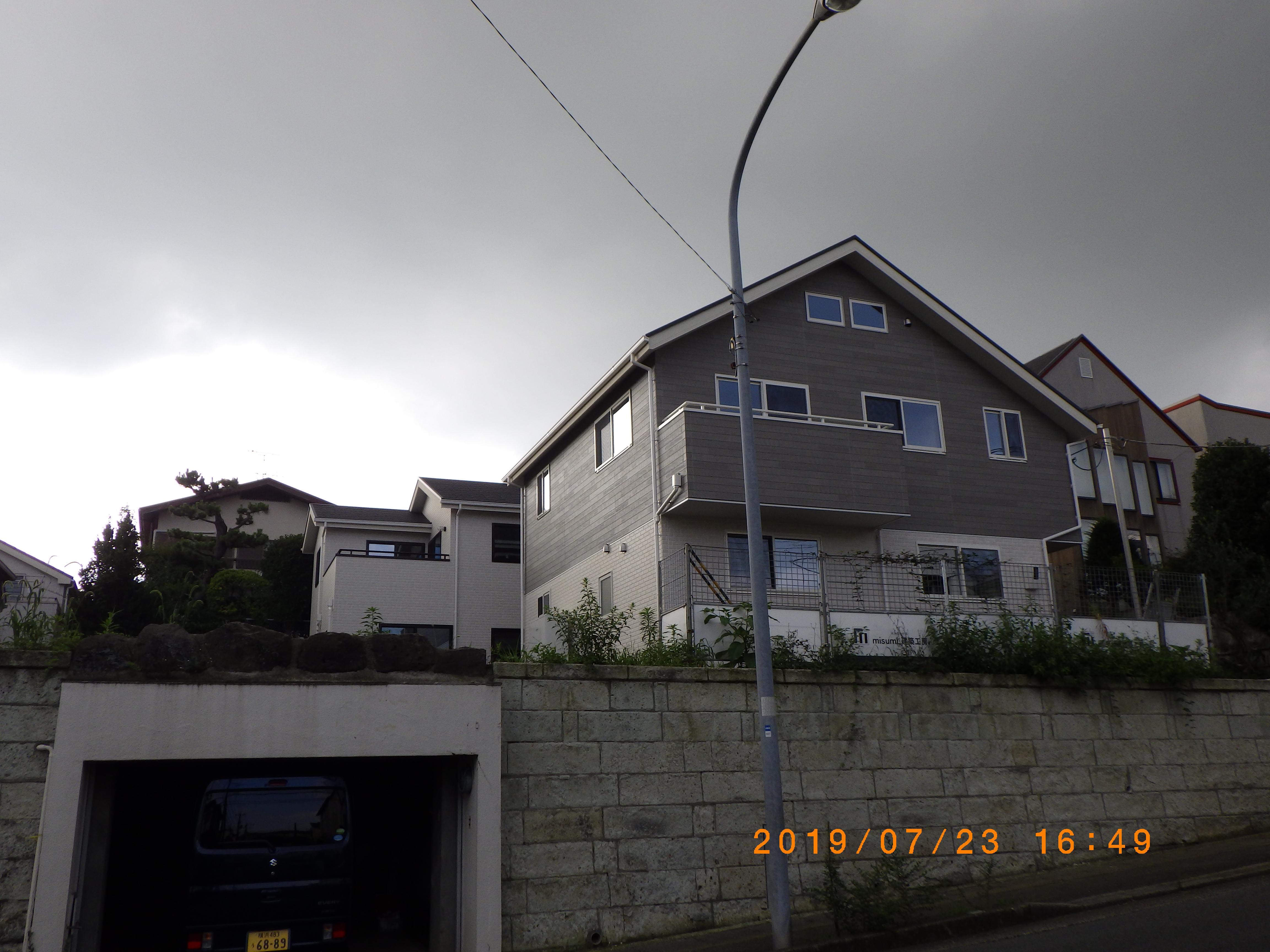 横浜市青葉区S様邸工事状況