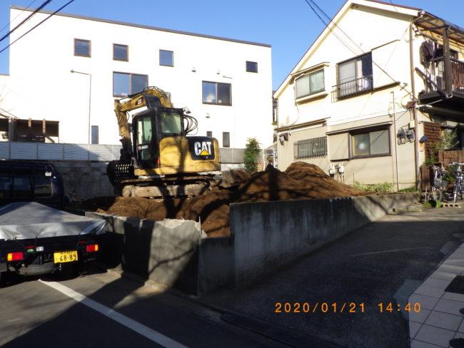 東京都目黒区S様邸 解体工事完了